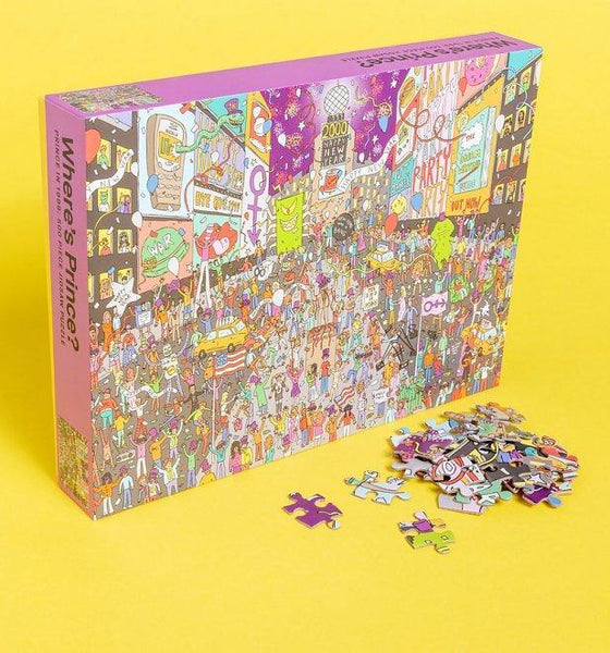 Where's Prince? 500 Piece Jigsaw Puzzle - Forthegeekend