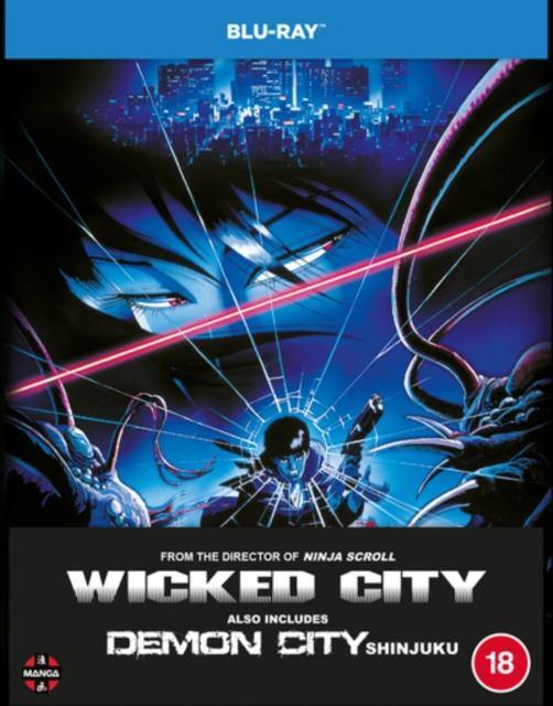 WICKED CITY DEMON CITY SHINJUK BLURAY