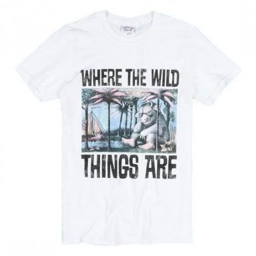 WHERE THE WILD THINGS ARE  T-SHIRT - Forthegeekend