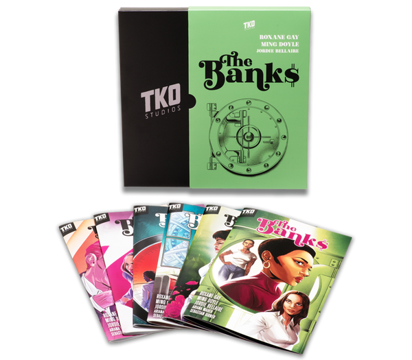 TKO STUDIOS THE BANKS 6 ISSUE BOX SET - Forthegeekend