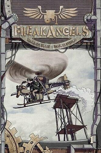 FREAKANGELS  HARDCOVER VOLUME 1 - Forthegeekend