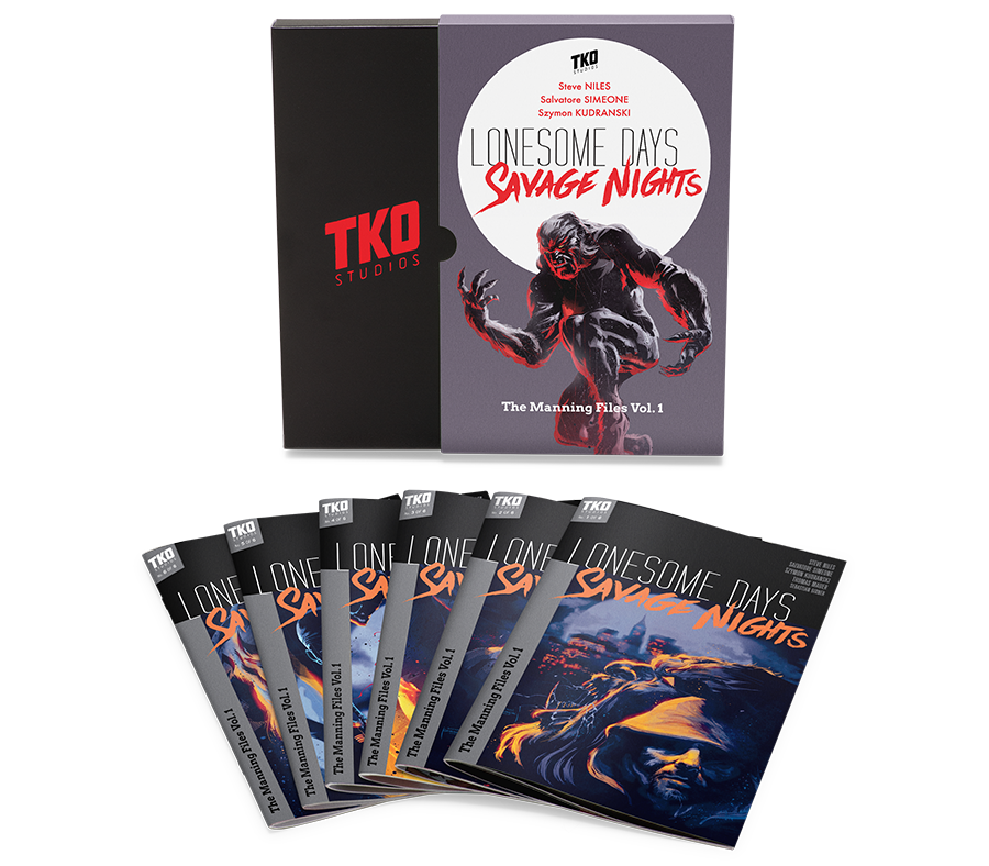 TKO STUDIOS LONESOME DAYS, SAVAGE NIGHTS  ISSUE COLLECTORS EDITION