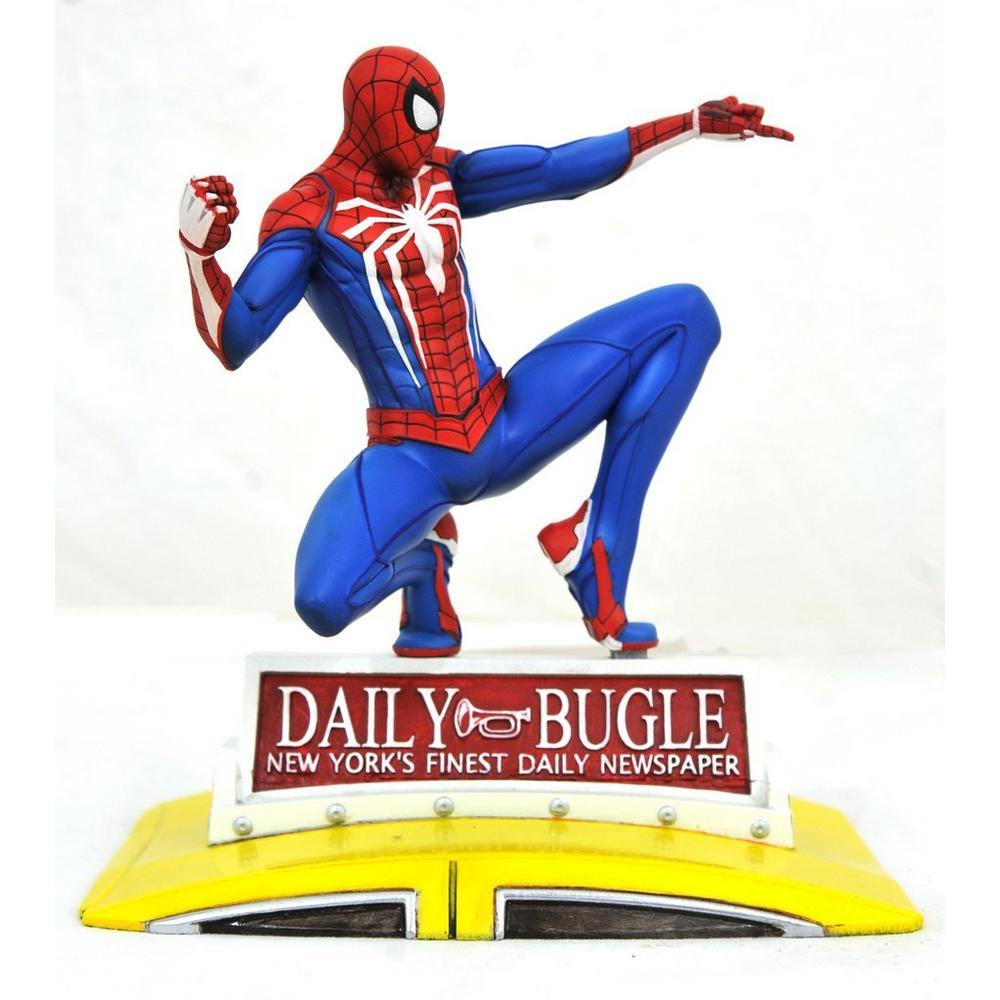 SPIDER-MAN ON TAXI MARVEL GALLERY 23CM STATUE - Forthegeekend