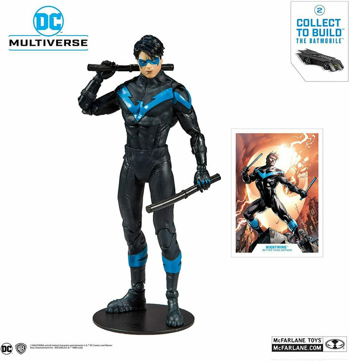 Nightwing DC Multiverse McFarlane Toys Action Figure