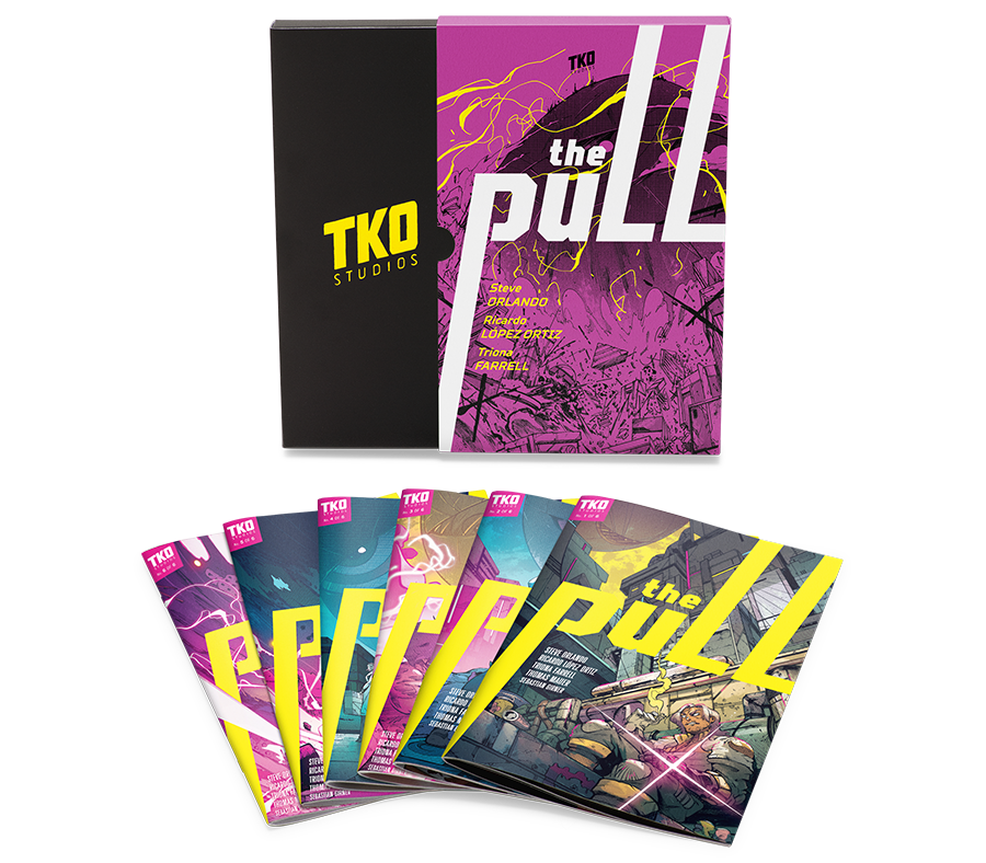 TKO STUDIOS THE PULL 6 ISSUE COLLECTORS EDITION - Forthegeekend