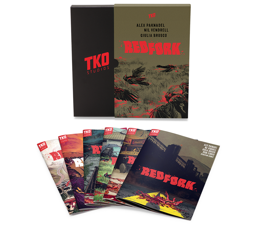 TKO STUDIOS RED FORK 6 ISSUE BOX SET