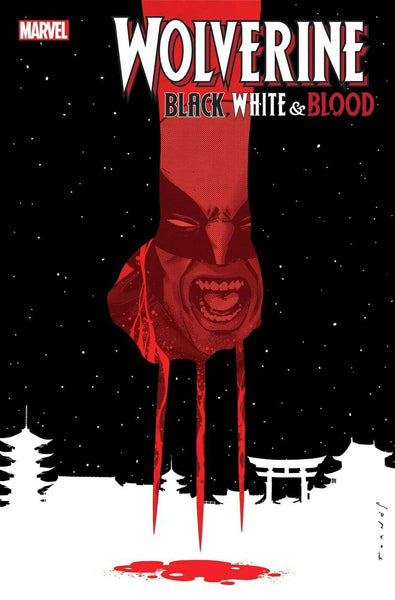 WOLVERINE BLACK WHITE BLOOD #3 - Forthegeekend