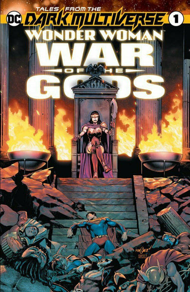 TALES OF THE DARK MULTIVERSE WONDER WOMAN WAR OF THE GODS #1