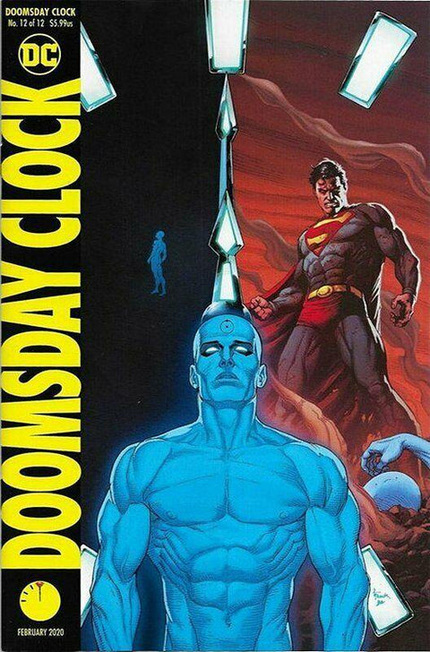 DOOMSDAY CLOCK 12 OF 12 VARIENT - Forthegeekend