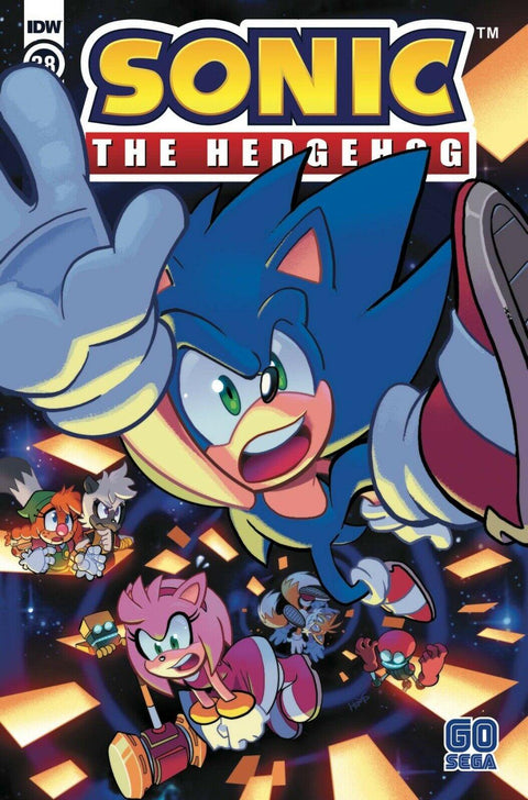 SONIC THE HEDGEHOG #38 COVER A - Forthegeekend
