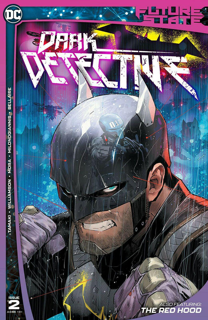 FUTURE STATE DARK DETECTIVE  #2 DC COMICS - Forthegeekend
