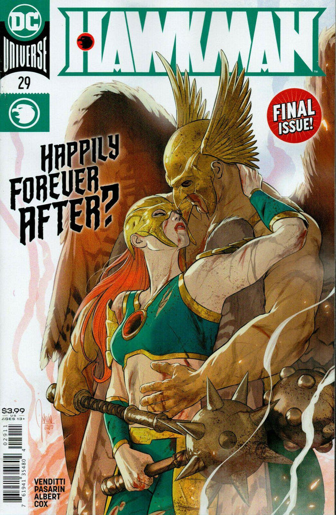 HAWKMAN #29 - Forthegeekend