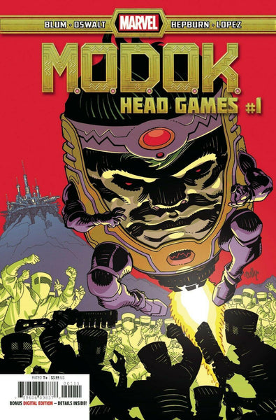 MODOK HEAD GAMES #1 - Forthegeekend