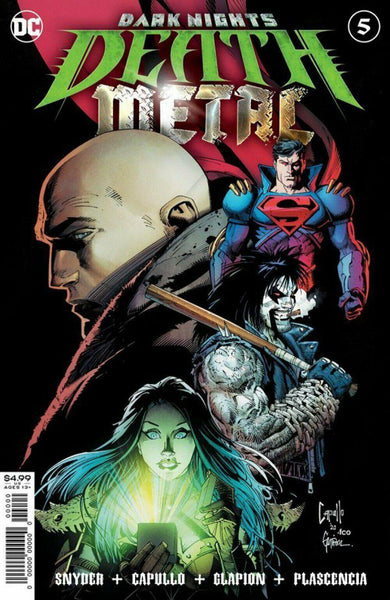 DARK NIGHTS DEATH METAL #5 - Forthegeekend