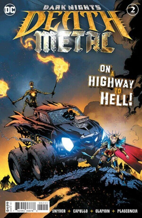 DARK NIGHTS DEATH METAL #2 - Forthegeekend