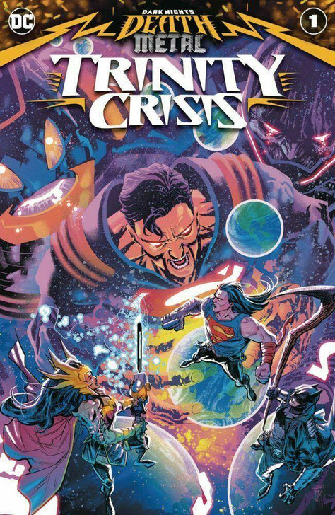 DARK NIGHTS DEATH METAL TRINITY CRISIS 1 - Forthegeekend