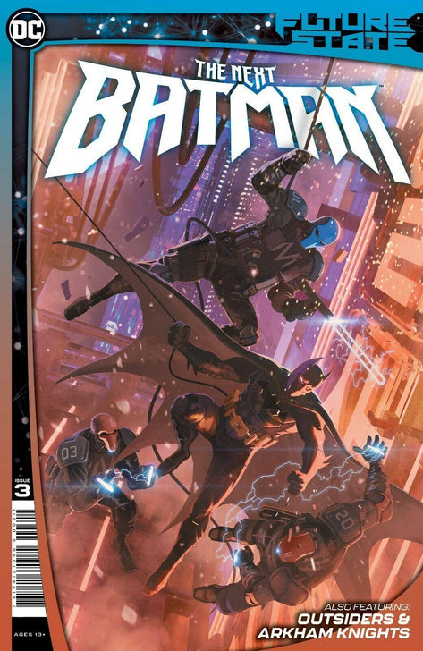 FUTURE STATE THE NEXT BATMAN #3 DC COMICS - Forthegeekend
