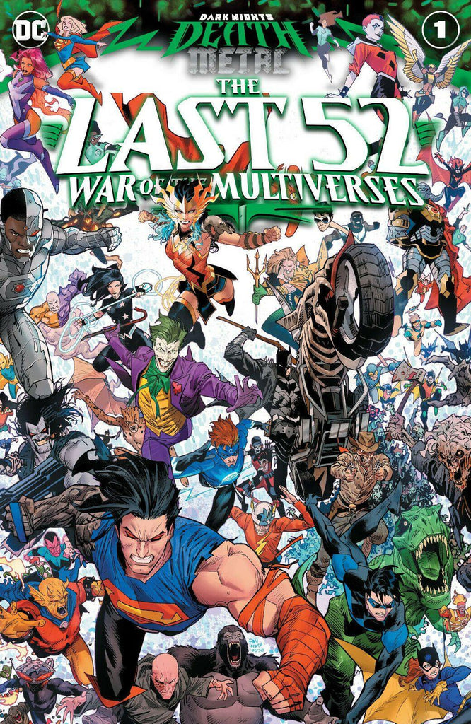 DARK NIGHTS DEATH METAL LAST 52 WAR MULTIVERSE #1 - Forthegeekend