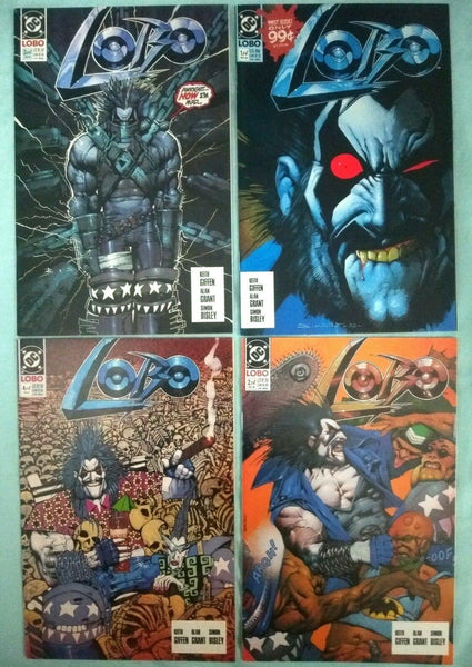 LOBO VOLUME 1  ISSUES 1-4 COMPLETE SET 1990 NM - Forthegeekend