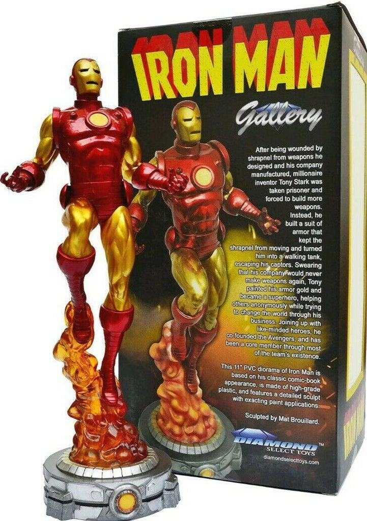 MARVEL GALLERY CLASSIC IRON MAN - Forthegeekend