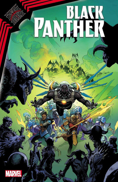 KING IN BLACK BLACK PANTHER #1 COVER - Forthegeekend