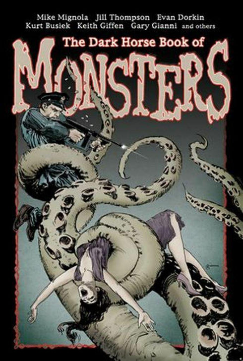 THE DARK HORSE BOOK OF MONSTERS HARDCOVER - Forthegeekend