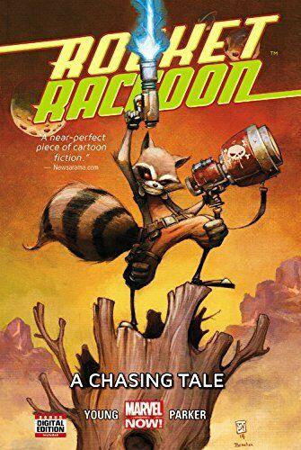 ROCKET RACCON VOL 1 A CHASING TALE HARCOVER - Forthegeekend