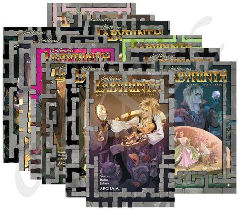 JIM HENSONS LABYRINTH CORONATION 1-12 1ST PRINTS + BONUS VARIENT - Forthegeekend