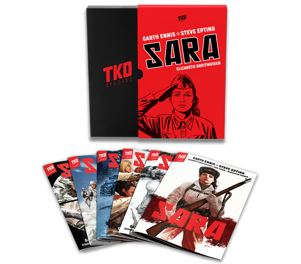 TKO STUDIOS SARA 6 ISSUE BOX SET - Forthegeekend