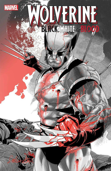 WOLVERINE BLACK WHITE BLOOD #2