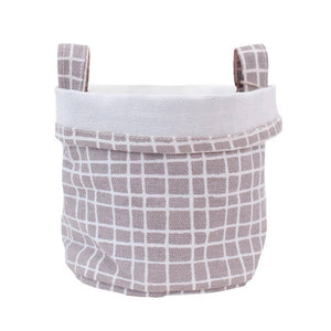 Grey Recycled Canvas Bucket