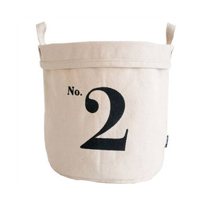 No. 2 Recycled Canvas Bucket