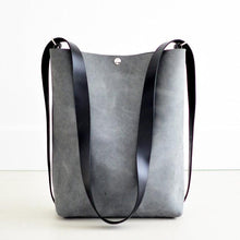 Load image into Gallery viewer, Crossback (crossbody + backpack) - Grey Leather