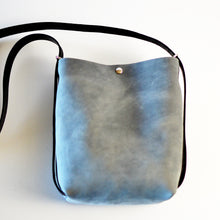 Load image into Gallery viewer, Mini Crossback (crossbody + backpack) - Grey Leather