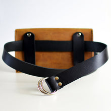 Load image into Gallery viewer, Hipster Bag (Fanny Pack + Clutch) - Honey Brown Leather