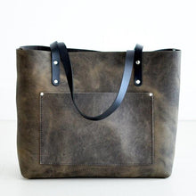 Load image into Gallery viewer, Large Classic Tote - Slate Leather