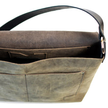Load image into Gallery viewer, Messenger Bag - Slate Leather