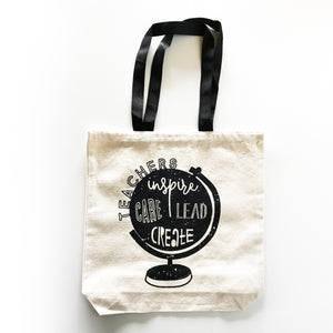Teachers Canvas Tote