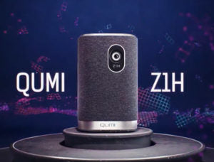 Qumi Z1H Portable Speaker Projector
