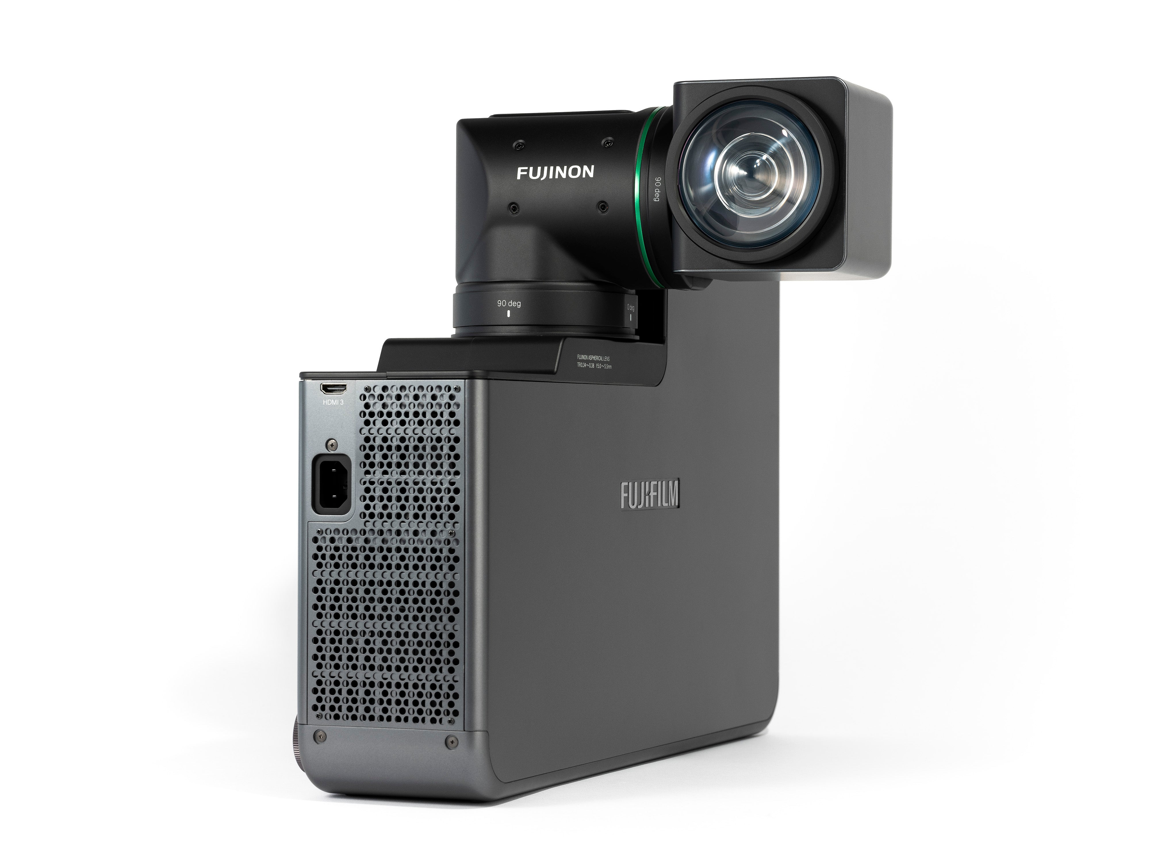 Fuji UST Laser Projector with rotating lens (vertical install)