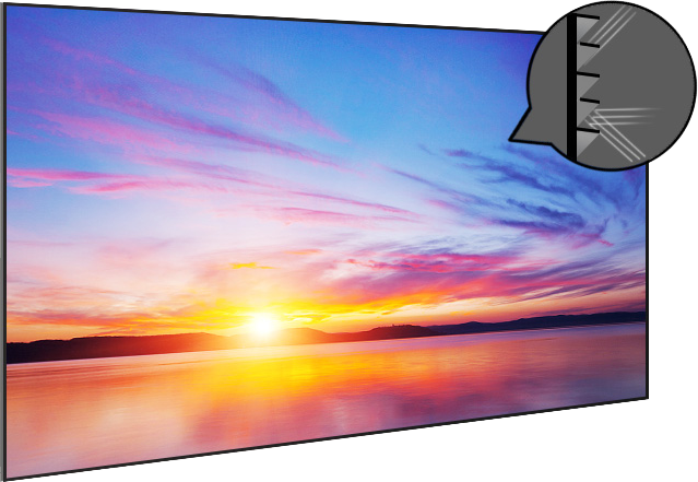 "CHiQ 100"" S-CK100 ALR Black Grid UST Projection Screen"