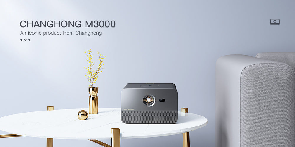 Changhong M3000 LED Smart Portable Projector (Short Throw, 4800 Lumens, Full HD)