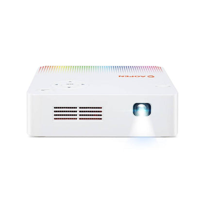 AOpen PV10 - DLP projector - 300 lumens - WVGA (854 x 480) - 16:9 - white