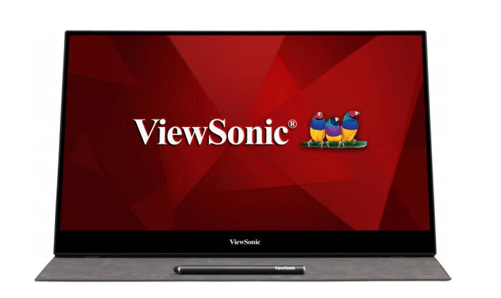 "Viewsonic TD1655 16"" Touch Screen Portable Monitor"