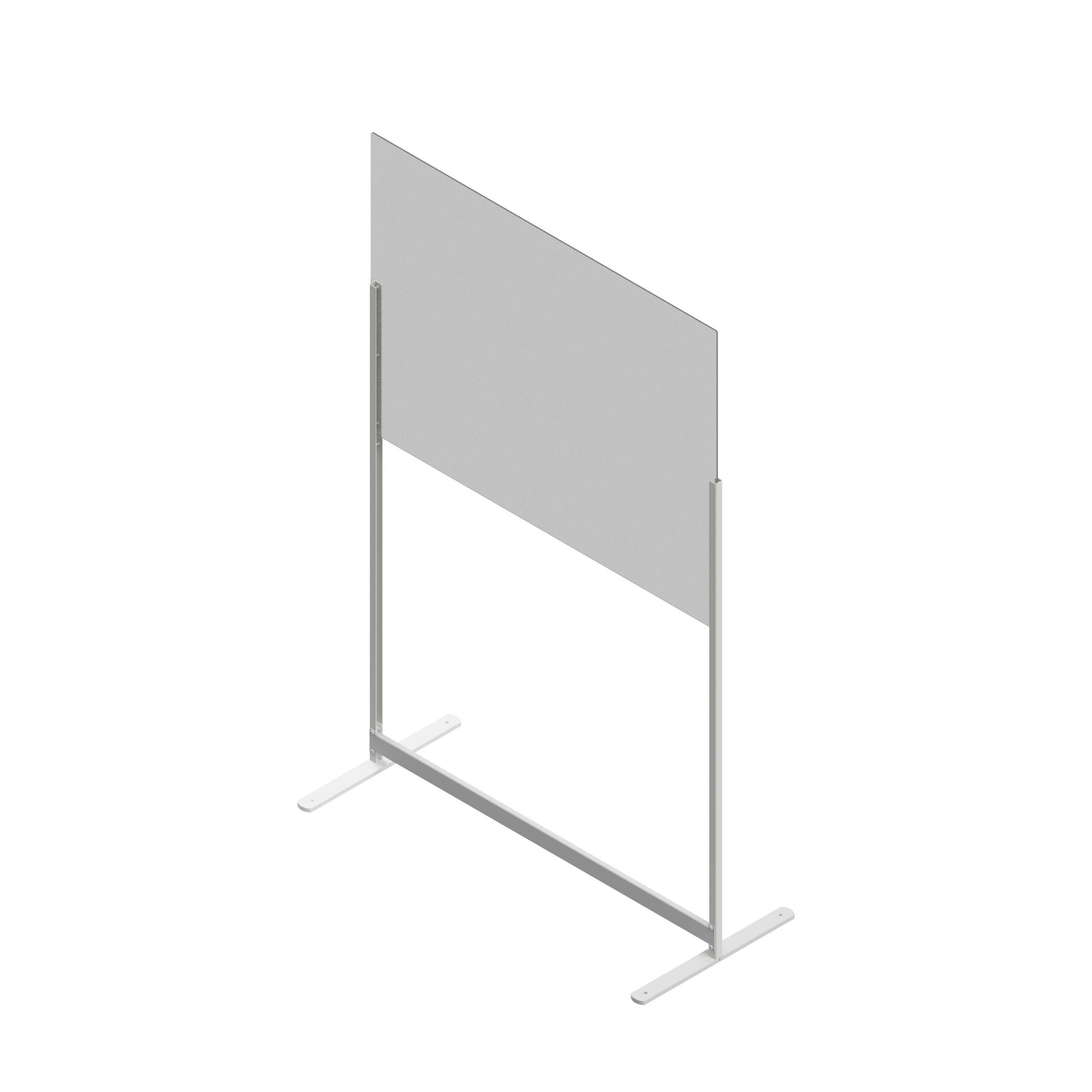 Edbak Prowall Protective Screen Plexiglass With Floor Stands