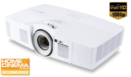 Acer V7500, 2500 Ansi Lumens Full HD 1080p Home Cinema Projector, 3D Ready