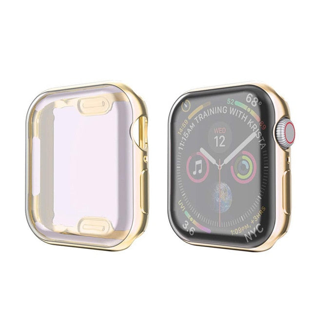 Gold Metallic iWatch Cover