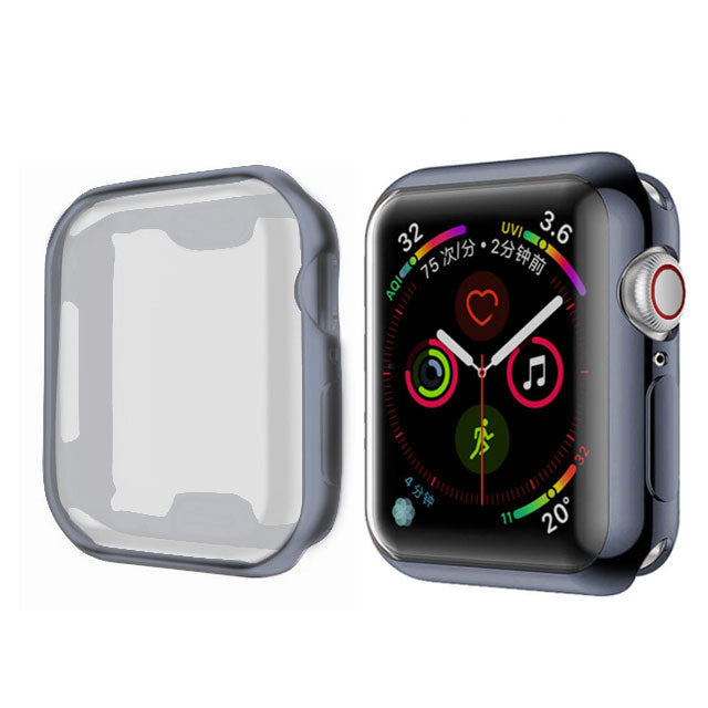 Black Metallic iWatch Cover