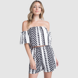 Aztek Off Shoulder 2 Piece Set