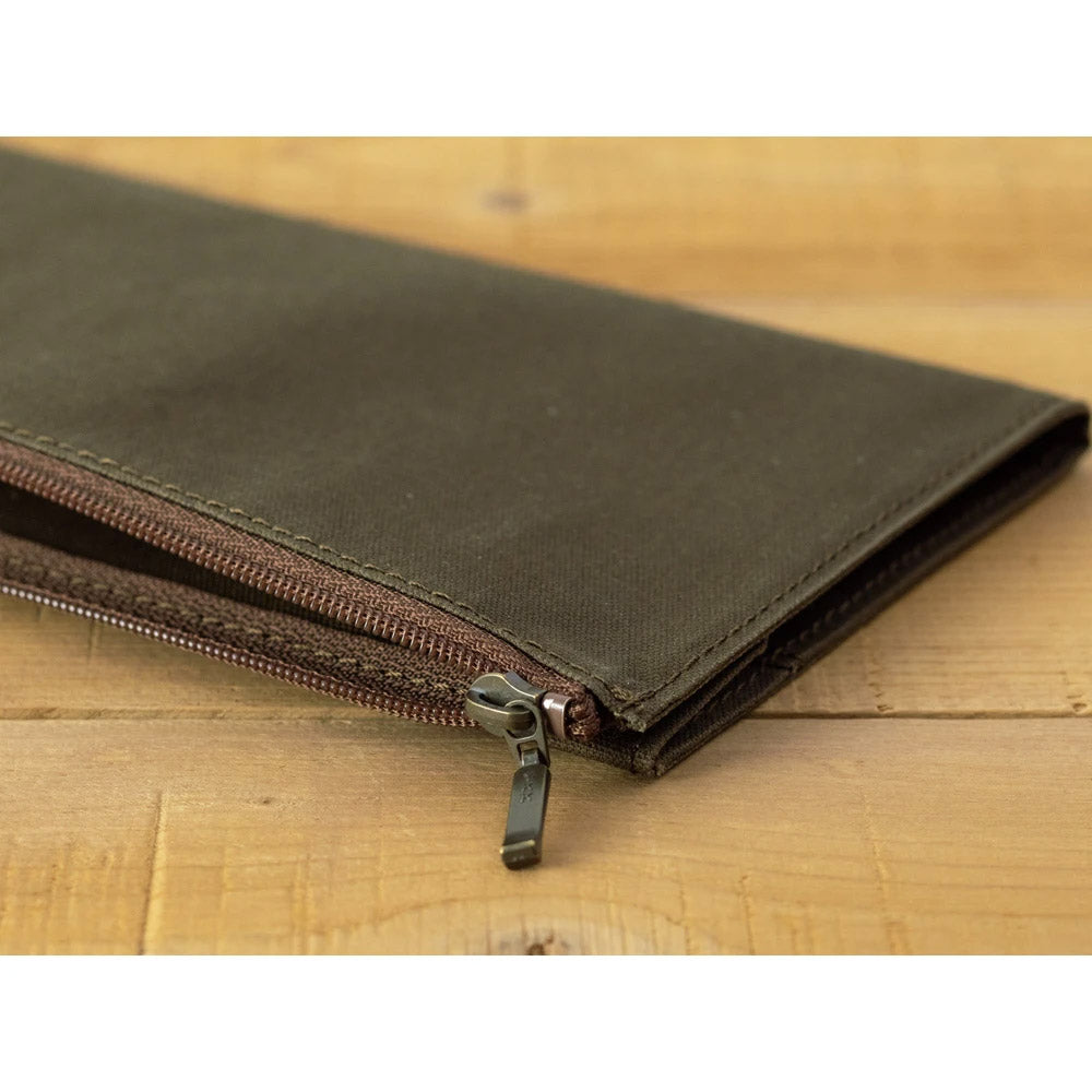 Traveler's Company - Cotton Zipper Case Limited Edition (Regular) - Kuva 5